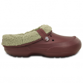 Crocs Blitzen II Clog Burgandy/Clay, easy to remove liner