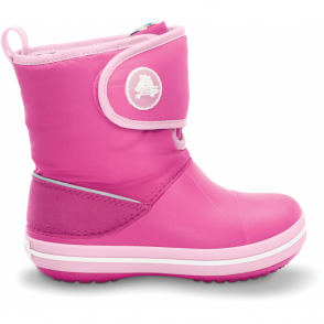 Crocs Kids Chameleon Crocband Gust Boot Fuchsia/Bubblegum, colour changing winter boots