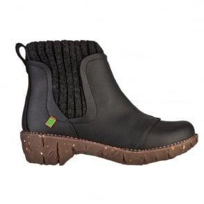 El Naturalista NE23 Yggdrasil Ankle boot Black, Great comfort boot