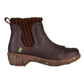 El Naturalista NE23 Yggdrasil Ankle boot Brown, Great comfort boot
