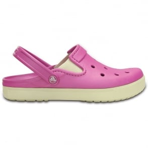 Crocs Citilanes Clog Wild Orchid/Stucco, a slender version of the Classic and Crocband Clog for a more taylored fit