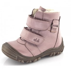 Froddo Minis Ankle Boot Velcro Straps G2110047-6 Pink, waterproof velcro ankle boot