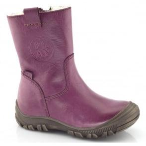 Froddo Junior Ankle Boot G3160042-2 Wine, waterproof ankle boot