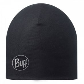 Buff Microfiber Polar Hat Black, warm and soft, ideal for winter activities