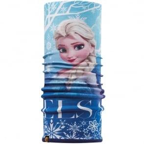 Polar Kids Buff Frozen Elsa/Navy, 2 Layer cylindrical headgear