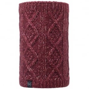 Buff Neckwarmer Polar Reversible Gymmer Grana/Melange Grey, chunky knitted neackwarmer