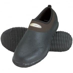 The Muck Boot Company Daily Garden Shoe Brown, Gardening shoes warm neoprene lining