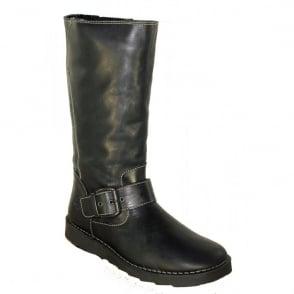 Oxygen Rhone Black, Mid Calf Boot