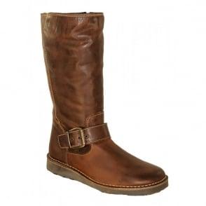 Oxygen Rhone Tan, Mid Calf Boot