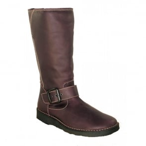 Oxygen Rhone Purple, Mid Calf Boot