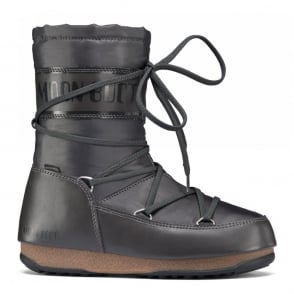 MoonBoot Moon Boots Soft Shade MID Anthracite, Waterproof Iconic Boot