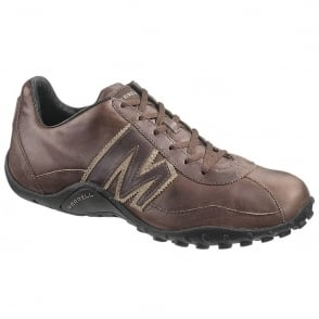 Merrell Sprint Blast shoe, Espresso/Brindle, Leather lace up