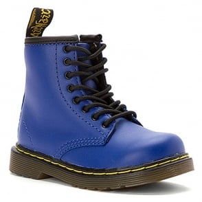 Brooklee Boot Wild Blue, the classic Dr Martens for tiny feet