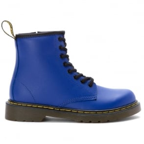Delaney Boot Wild Blue, the classic Dr Martens for tiny feet