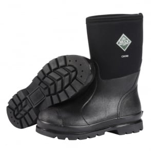 The Muck Boot Company Chore MID Black, Mid length work wellington