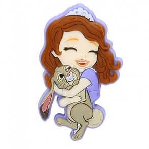 Jibbitz Disney Sofia The First & Clover