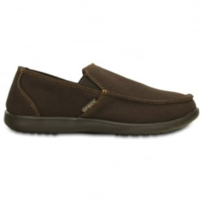 Crocs Santa Cruz Clean Cut Loafer Espresso/Espresso,