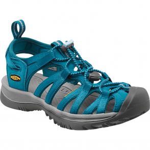 KEEN Womens Whisper Celestial/Corydalis Blue, a narrow version of the orignal sandal with toe bumper