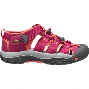 KEEN Kids Newport H2 Very Berry/Fusion Coral, ideal for in and out of the water