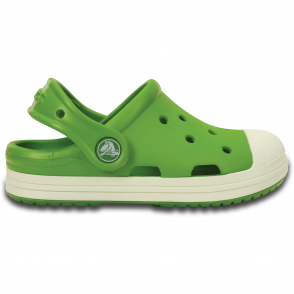 Crocs Bump It Clog Parrot Green/Oyster, vintage sneaker inspired single sized clog