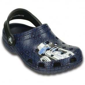 Crocs Kids Classic Star Wars R2D2 C3PO Nautical Navy, Star Wars themed classic clog