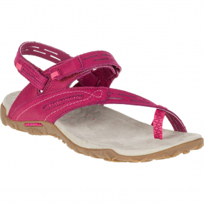 Merrell Terran Convertible II Fuchsia, breathable mesh & leather sandal
