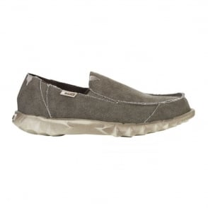 Dude Farty Classic Coffee, canvas slip on mule