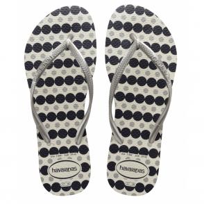 Havaianas Slim Fresh White, the original flip flop designed for ladies