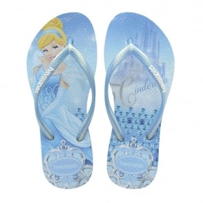 Havaianas Kids Slim Princess Cinderella Lavender Blue, made for Princesses