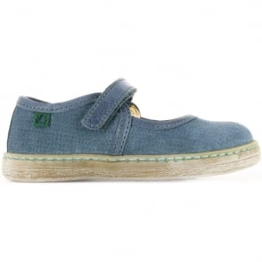 El Naturalista Kids Youth E051 Kepina Vaquero, simple fun girls leather flat