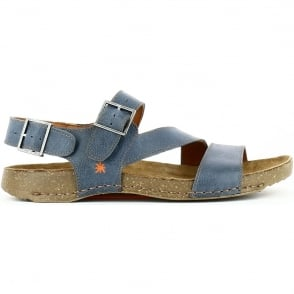 The Art Company 0999 I Breathe Sandal Crepusculo, leather sandal with adjustable straps