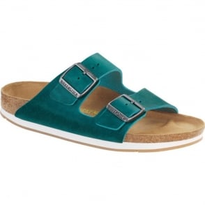 Arizona 57681 Oiled Leather Turquoise, oiled leather classic Birkenstock sandal