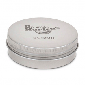 Dr Martens Dubbin, a natural wax formula which softens and preserves greasy, oily and waxy leathers