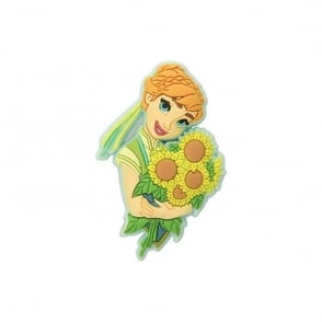 Jibbitz Anna Frozen Fever Badge
