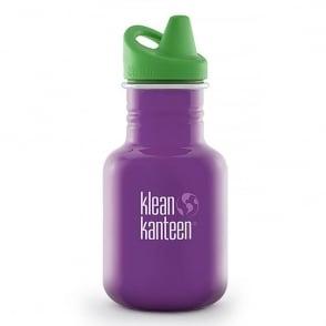 Klean Kanteen 355ml Kid Kanteen Sippy Sugar Plum, Stainless Steel BPA-Free Sippy Drink Bottle great for children
