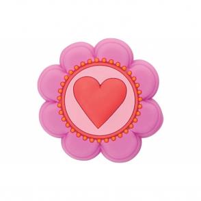 Jibbitz Heart Flower