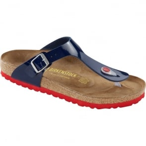 Birkenstock Gizeh Dress Blue 845881, The best selling Birkie toe post