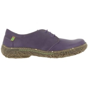 El Naturalista N797 Nido Shoe Purple, womens lace up flat