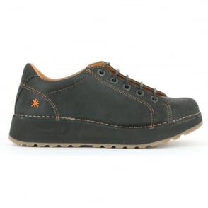The Art Company Heathrow 1020 Black, Laced Leather shoe