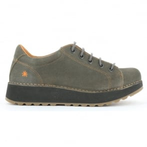 The Art Company Heathrow 1020 Plumb, Laced Leather shoe