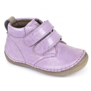 Froddo Minis Velcro Ankle Boot G2130100-5 Lilac, leather velcro ankle boot