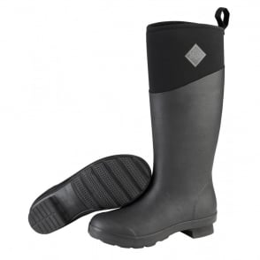 The Muck Boot Company Womens Tremont TALL Black, Fashion & Performance Wellington