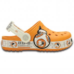 Crocs Kids Crocband Star Wars Hero BB-8 Clog, may the force be with you
