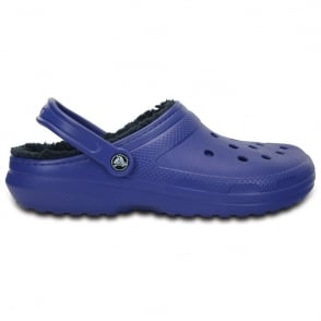 Crocs Classic Lined Clog Cerulean Blue/Navy, the Classic Clog but with a warm fuzzy lining
