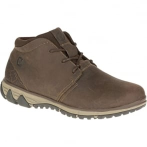 Merrell Mens All Out Blazer Chukka North Clay, leather boot for mixed terrain