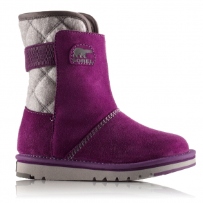 Sorel Youth Newbie NY1873 Glory, fleece lined water resistant boot