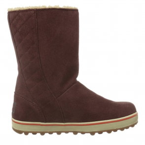 Sorel Glacy Boot NL1975 Redwood, slip on fleece lined waterproof boot