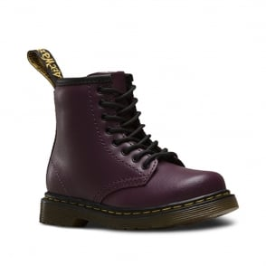 Dr Martens Brooklee Boot Purple, the classic for tiny feet