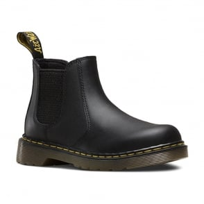 Dr Martens Banzai Boot Junior Black, the classic chelsea boot made for smaller feet