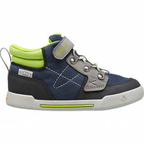 KEEN Kids Encanto Wesley High Top Dress Blues/Macaw, comfortable sneaker with flexible rubber sole